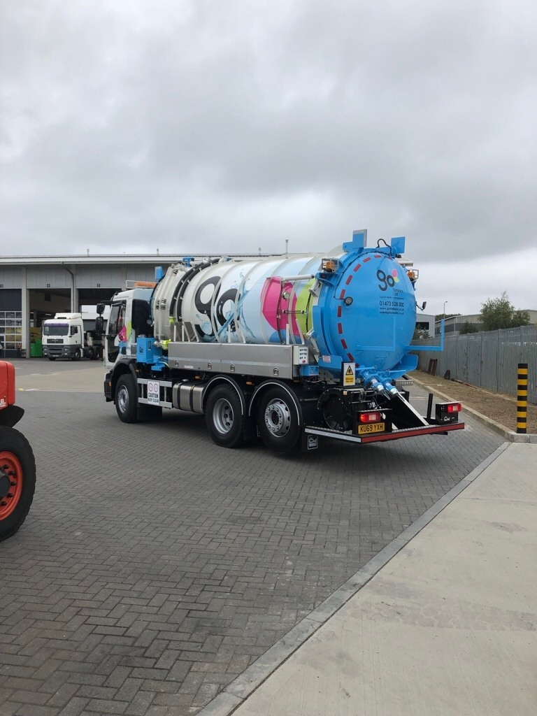 GO Tankers Brand New Septic Tank Cesspit Emptying Lorry Truck 14