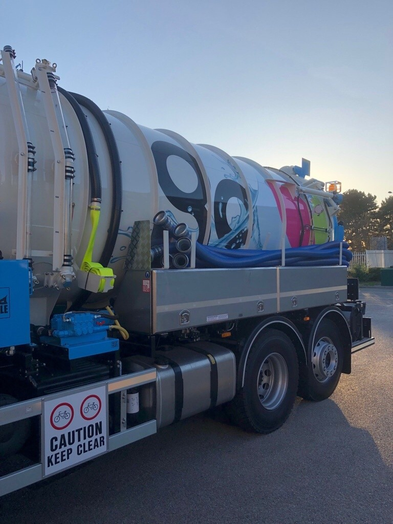 GO Tankers Brand New Septic Tank Cesspit Emptying Lorry Truck 15